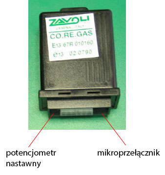 Emulator sondy lambda zavoli co.re. gas
