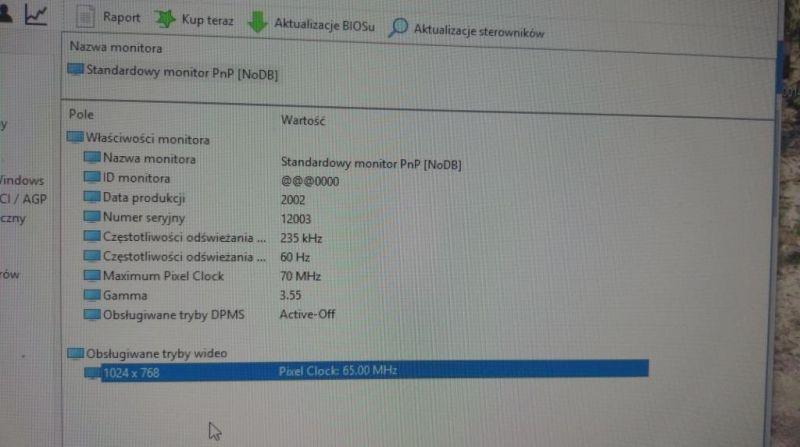 Dell Inspiron 17R 5737 - Zwielokrotniony obraz