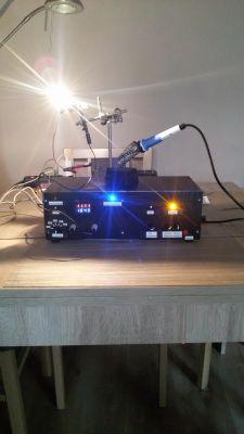 Prosty zasilacz laboratoryjny SN1533 by damian1115