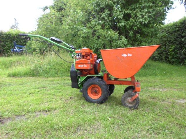 Agria 400 traktorek, kosiarka, glebogryzarka, wozid�o - ga�nie ci�ko odpali�...
