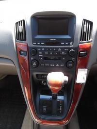 Lexus RX300 - Wymiana radia i wyświetlacza - US na EU