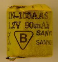 Zepsuty akumulator 1N-100AAS w programatorze cyfrowym PCm.01 1k 220