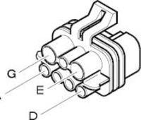 Multipla - Złącze wysokoprądowe wiązki wentylatora - gdzie kupić