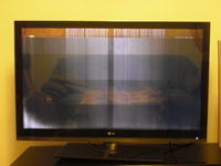 Telewizor LG 42SL9000 - podejrzenie uszkodzenia matrycy