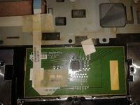 Acer Aspire 5750 - Zalany touchpad