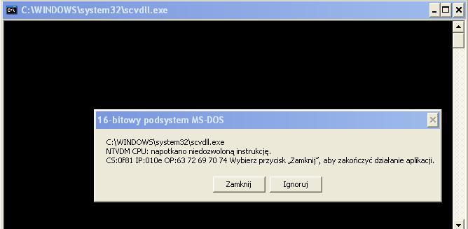 malware na laptopie - kilka usterek?