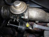 Audi A6 1.9 tdi - Zalana olejem okolica EGR