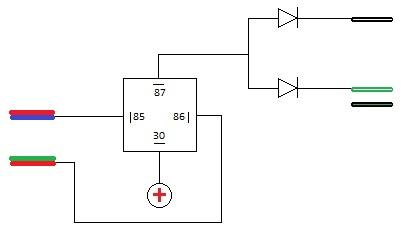 VW - Passat B5 - sygnalizacja centralnego zamka