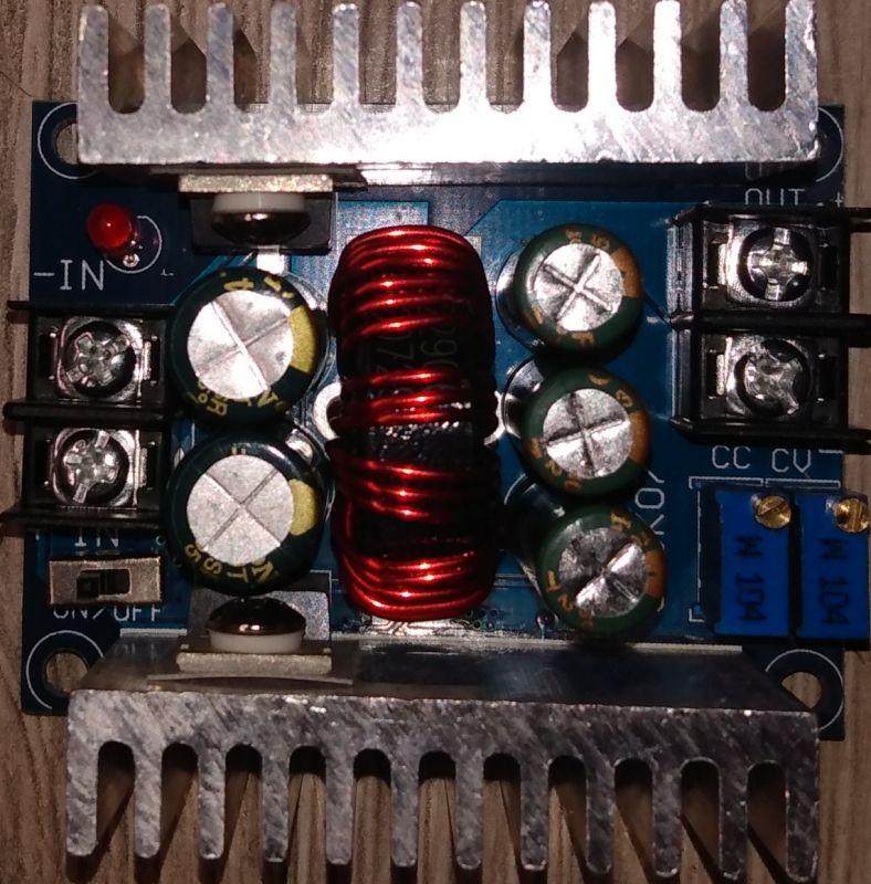 Moduł synchronicznej przetwornicy step down 20A SZBK07