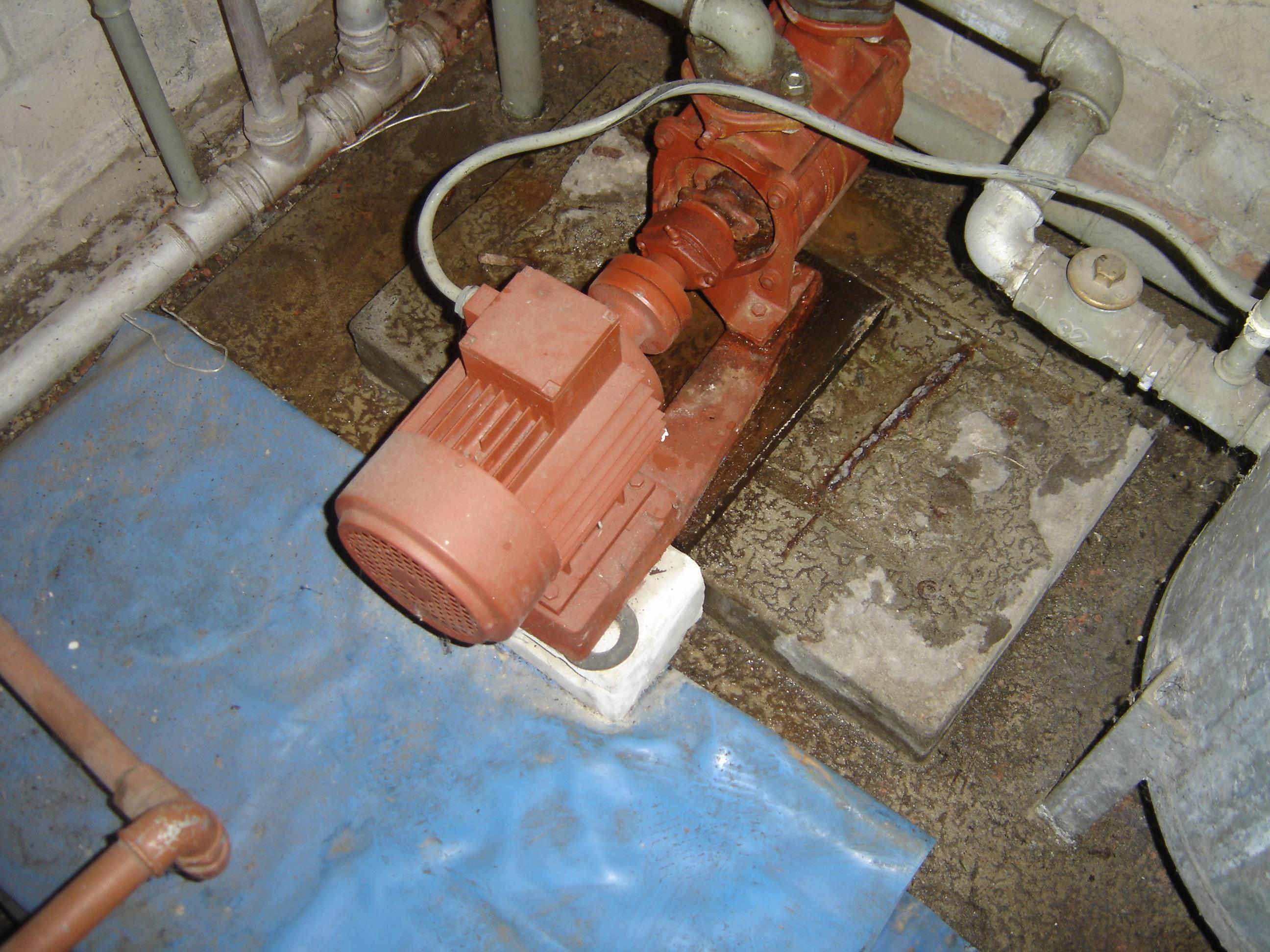 Pompa hydroforowa samozasysaj�ca SKA - przecieka