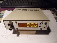 Miernik częstotliwości 100 MHz - fmiarka#1