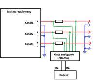Atmega, pomiar prądu typu high-side