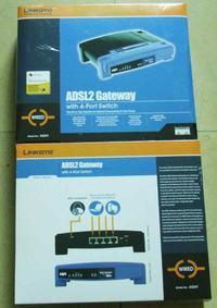 [Sprzedam] Router/Modem ADSL2+  Linksys AG-241, wbudowwany switch 4 portowy.