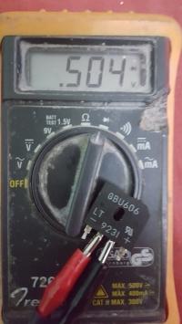 """Próba naprawy zasilacza PC """"ADVANCE MPT-7500"""""""