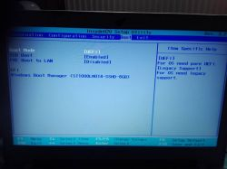 Lenovo Z510 - Czarny Ekran Lenovo, dalej nie idzie.