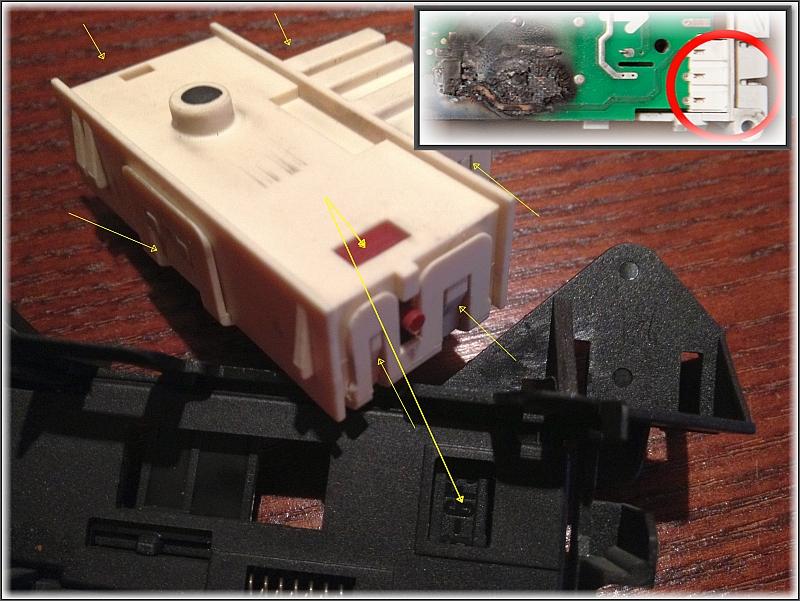 POLAR PFL800 blokada drzwi