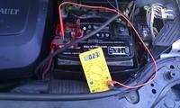ABS Renault Megane 1.5 DCI 2002r Pobiera prąd na wyłączonym silniku