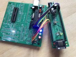 PIC18F67J60 własna płytka developerska Ethernet (serwer/klient WWW)
