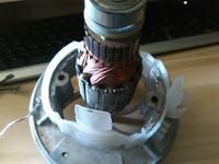 Silnik komutatorowy jednofazowy