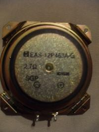 Uszkodzony głośnik do wieży Sony S-XBS