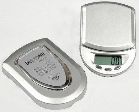Diamond A04 - Nie wiem jak skalibrowa� wag� i jakie funkcje ona jeszcze posiada