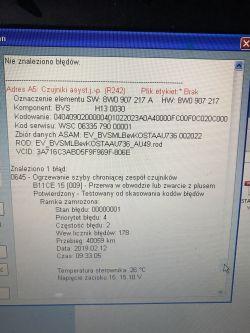 Audi A4 B9 - Awaria systemu Audi pre sense