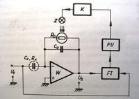 Przetwornik pojemność - napięcie z kompensacją strat dielektrycznych