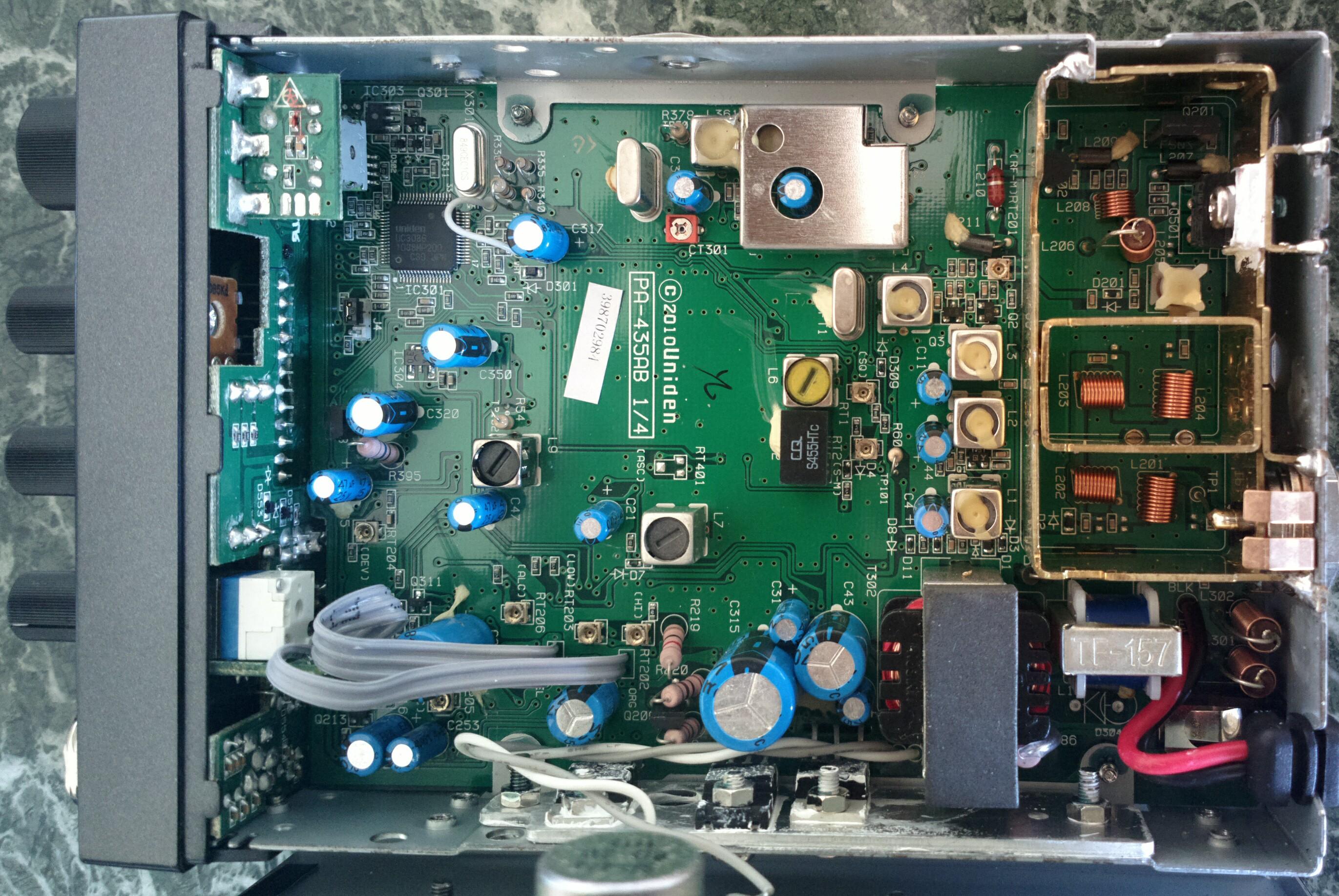 M Tech Legend Ii Modyfikacje Potencjometry Na Płycie Głównej Filtr 455