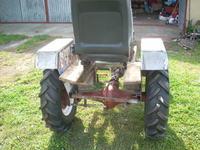Mały traktorek SAM z silnikiem Tico