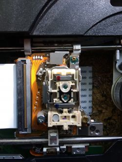 PIONEER BDP-LX08 jaki laser