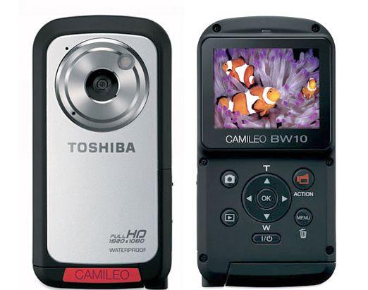 Toshiba Camileo BW10 kamera - d�ugo�� czasu dzia�ania baterii