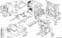 LIEBHERR 902 silnik Deutz - ogrzewanie bardzo słabe - pomysł na ogrzanie kabiny?