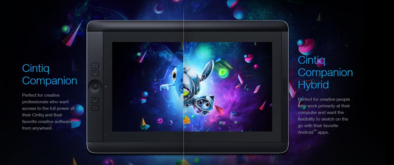 Wacom przedstawia tablety Cintiq Companion i Companion Hybrid