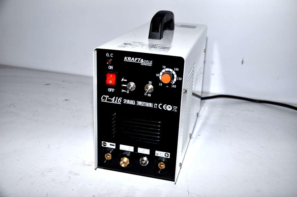 Spawarka plazma CUT 40 TIG MMA 160A- spawanie aluminium.