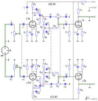 ECC83 i ECL86 - Wzmacniacz z korektorem