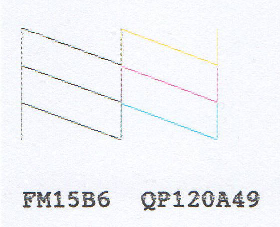 Epson SX23W - Czarny tusz - �le drukuje po kilku czyszczeniach.