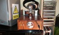 Słuchawkowy wzmacniacz lampowy na 6N2P i 6N13S