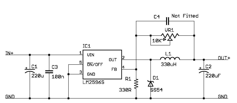 LM2596 i zasilanie diody XM-L