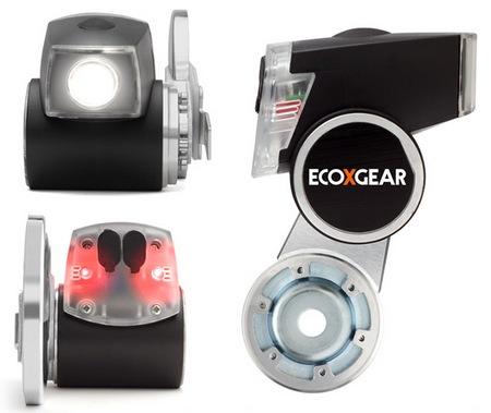 ECOXGEAR ECOXPOWER czyli, �wiate�ko/�adowarka z dynamem dla rower�w