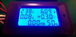 P06S-20/100 panel power consumption / energy consumption meter - test
