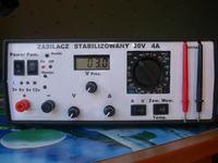 Zasilacz stabilizowany 0-20V 0-4A