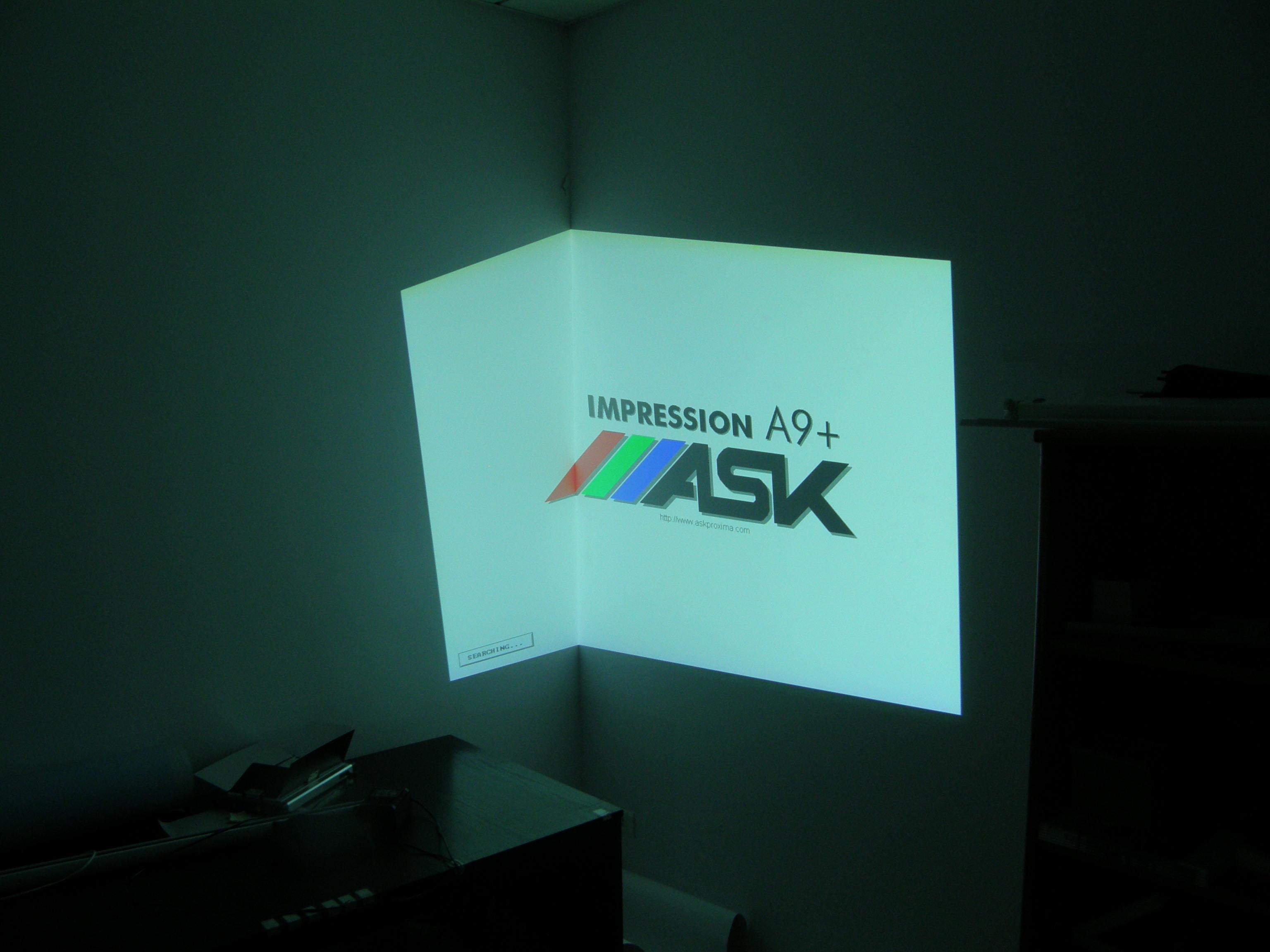 ask impression a9+ - Zak��cony obraz, nie wy�wietla poprawnie zielonego koloru