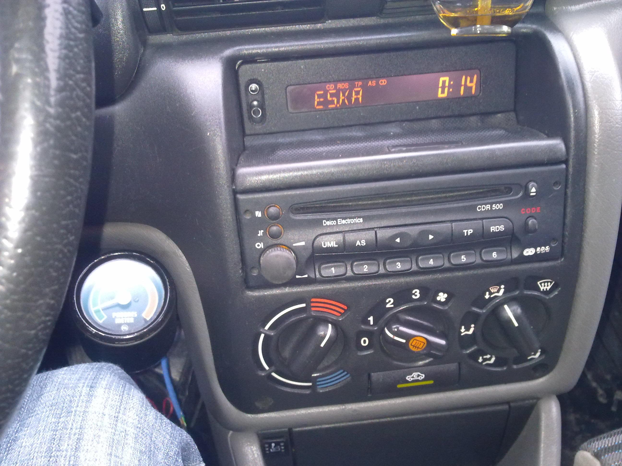 Za�o�enietempomatu Opel Astra F 2.0