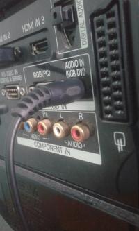 Panasonic SA AK 300 - jak podłaczyć do telewizora LG32LB75