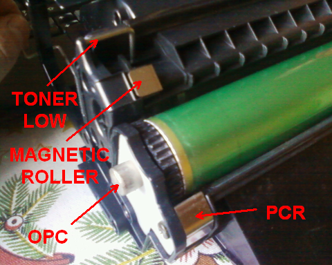 HP LJ 5000 - sk�d drukarka wie �e nie ma tonera