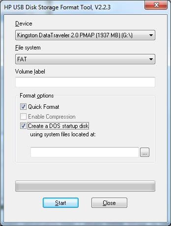Tworzenie bootowalnego pendrive'a USB jako floppy device