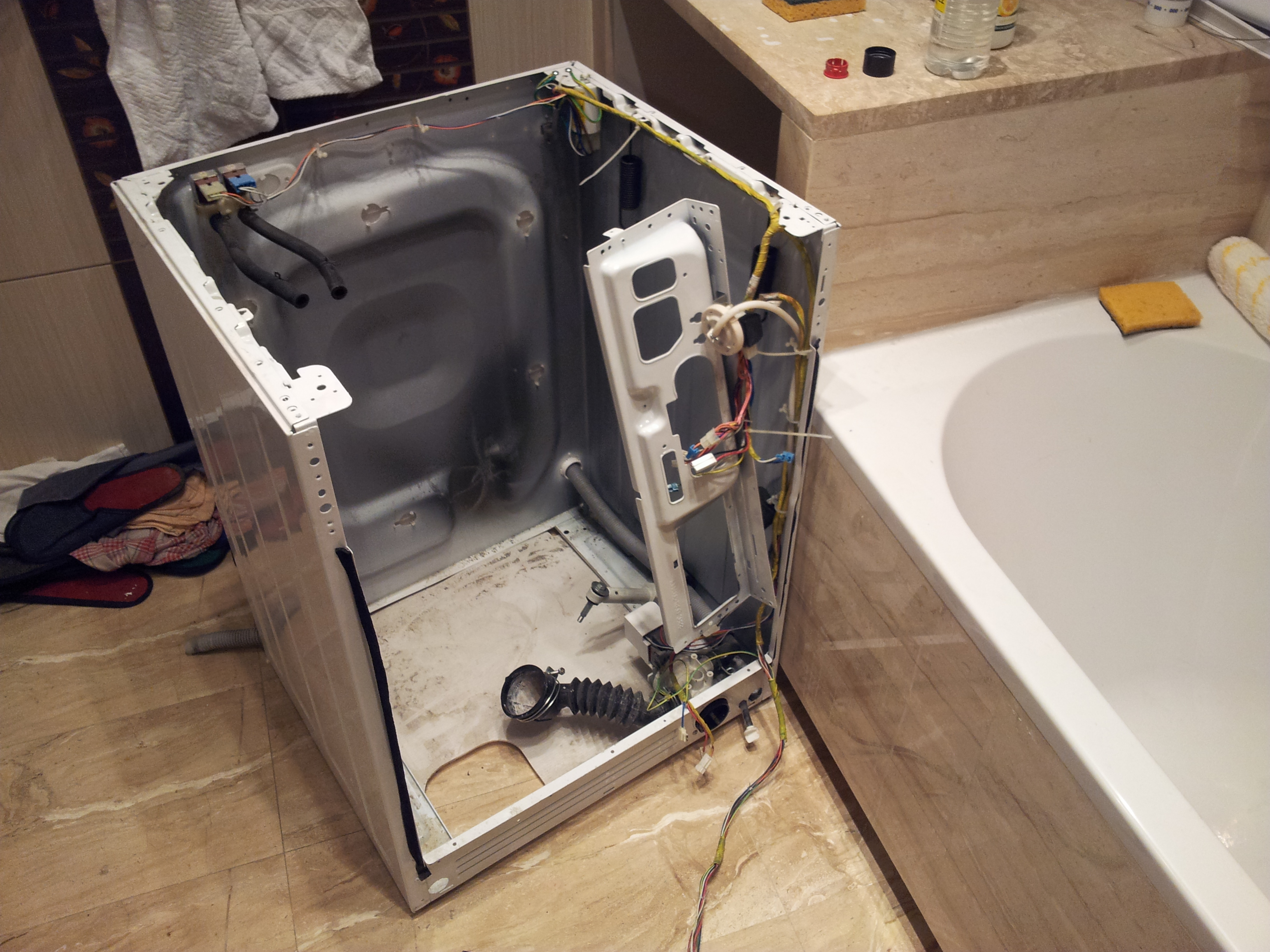 Samsung P1053 - Wymiana �o�yska w pralce Samsung p1053