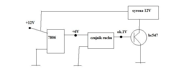 sterowanie tranzystorem bc547