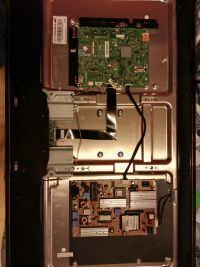 SAMSUNG LED UE40D5800 - Dziwne zachowanie matrycy
