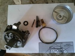 Tecumseh TVM140 - Traktorek-kosiarka Stiga - regulacja